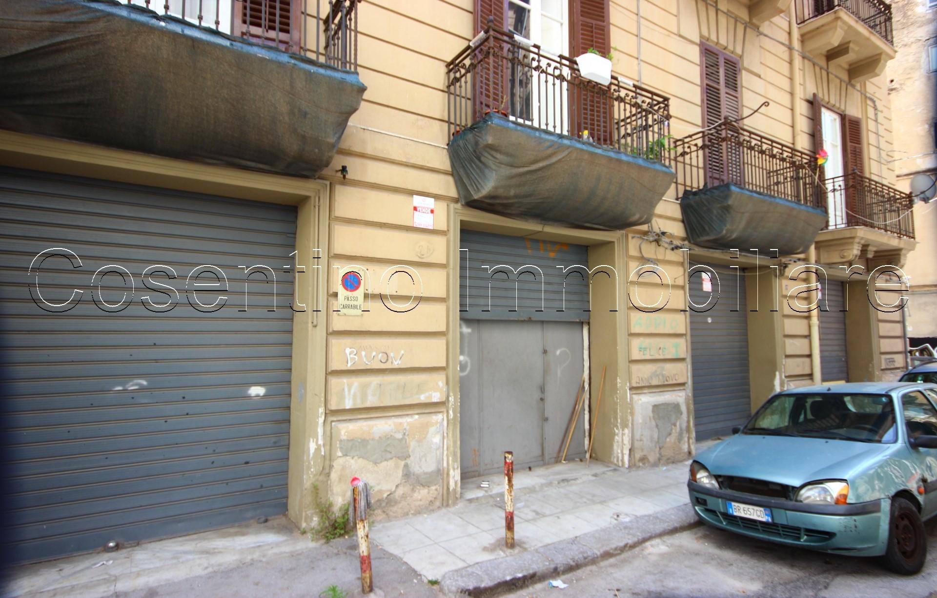 zona via Roma magazzino deposito 90mq